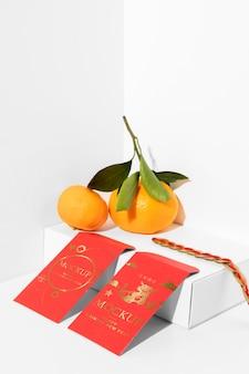 Chinees nieuwjaar elementen samenstelling