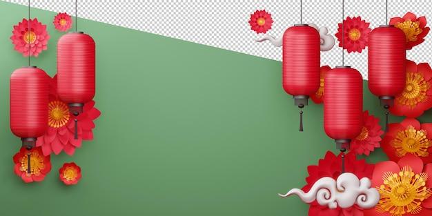 Chinees nieuwjaar, gelukkig nieuwjaar met traditioneel teken