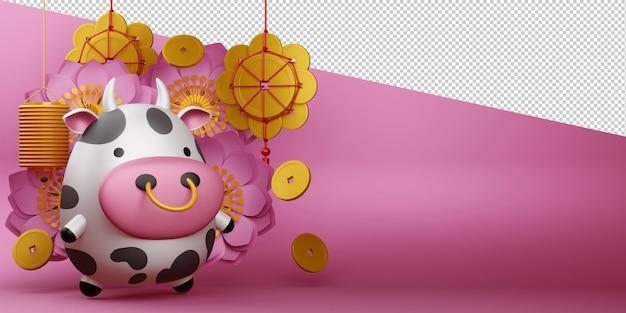 Chinees nieuwjaar, jaar van de os.