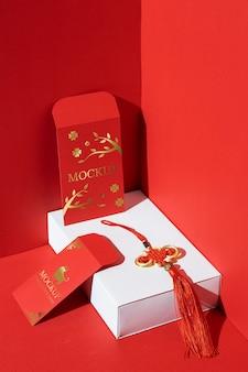 Chinese nieuwe jaarsamenstelling