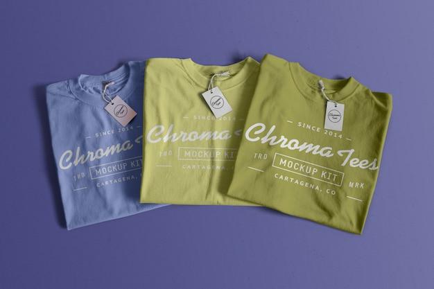 Chromatees tshirt mockup