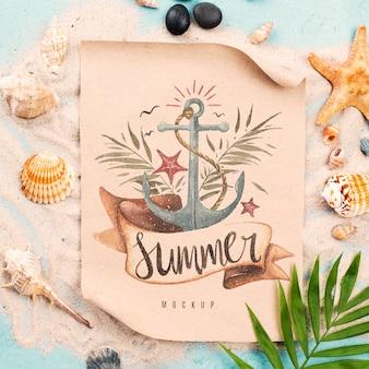 Citaat met nautische zomer
