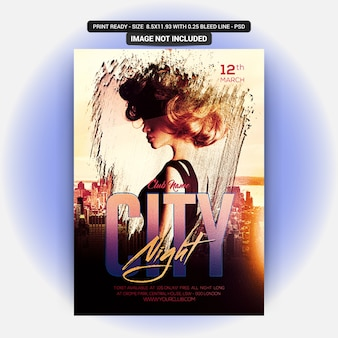 City night dj party