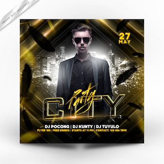 City party flyer premium
