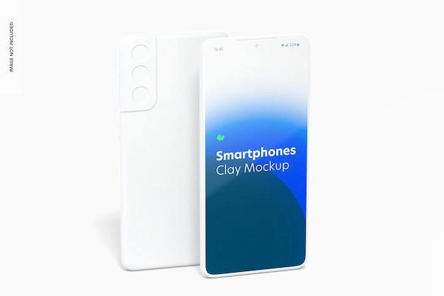 Clay smartphone-model