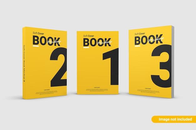 Close-up op boekomslag mockup design