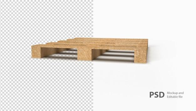 Close-up op houten pallets