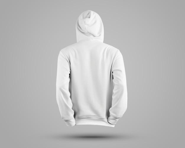 Close-up op mooie hoodie mockup geïsoleerd