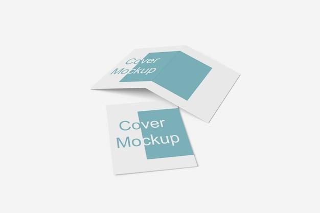 Close-up op verschillende doel tweevoudige brochure