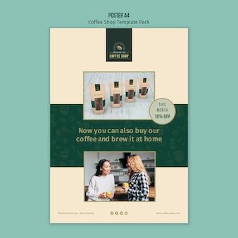 Coffeeshop en brouwen thuis poster