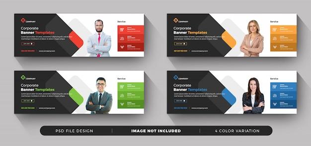 Colección de banner de negocios