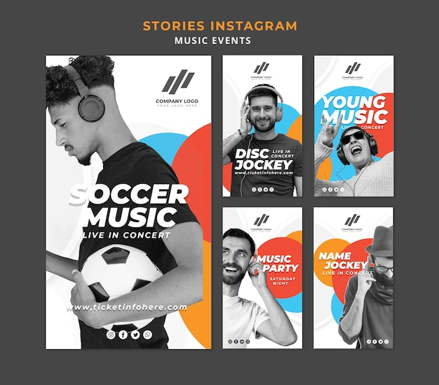 Colección de historias de instagram