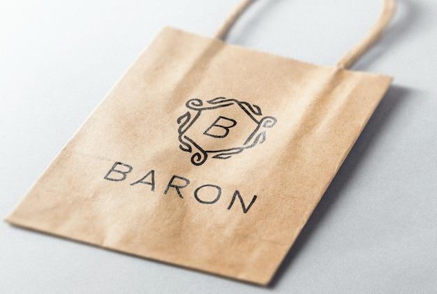 Collezione logo mockup