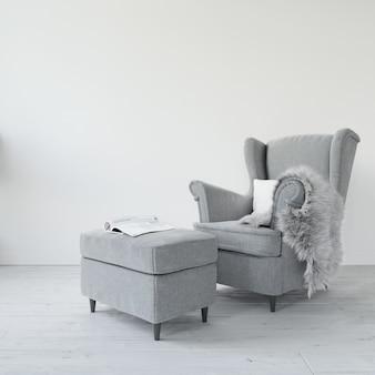 Comfortabele moderne stoel Gratis Psd
