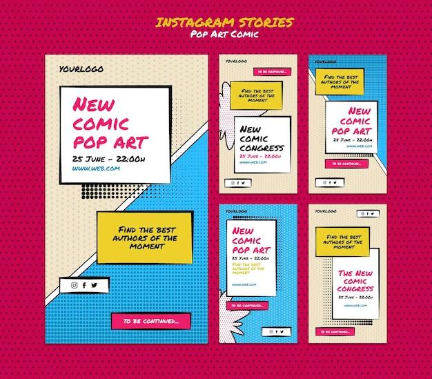 Comic congres social media verhalen