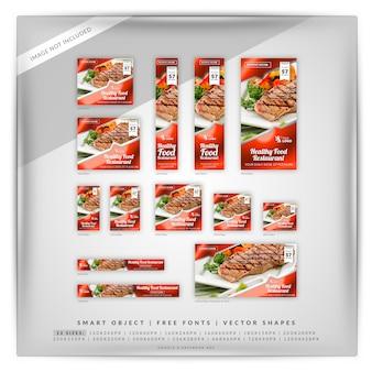 Comida y restaurante google y anuncios de facebook