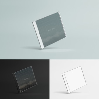 Compact disc case mock up