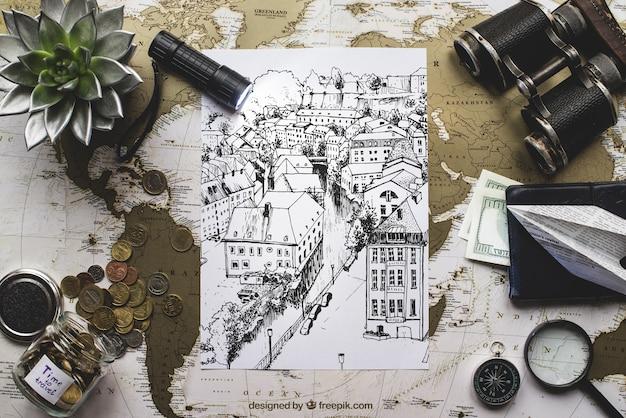 Composición de viaje