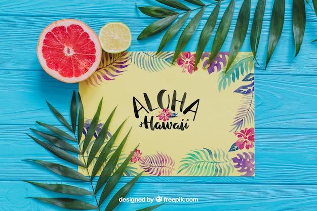 Composizione aloha