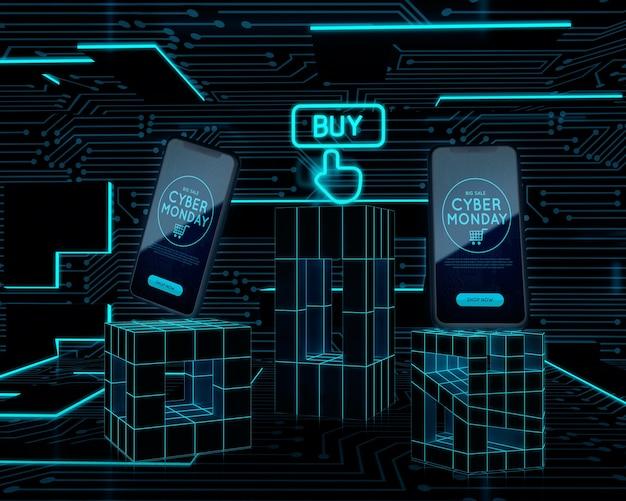 Compre ahora teléfonos oferta de lunes cibernético