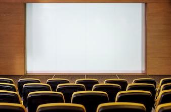 Conceito de cinema vazio