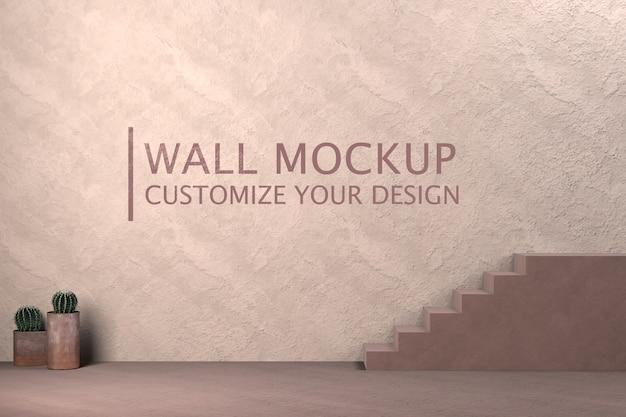 Concepto de minimalismo de diseño de interiores