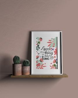 Concepto de minimalismo surtido interior