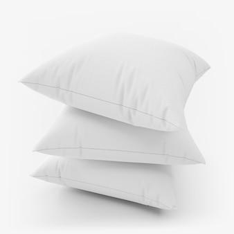Conjunto de almohadas en blanco