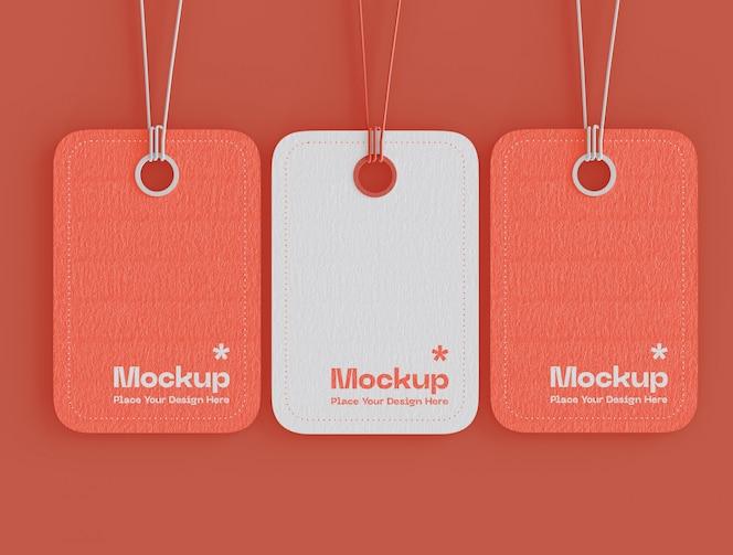 conjunto de maqueta de etiquetas de precios de etiquetas