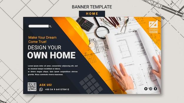 Construyendo su propia plantilla de banner para el hogar