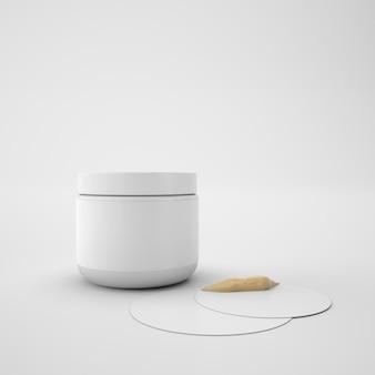 Container voor huidcrème