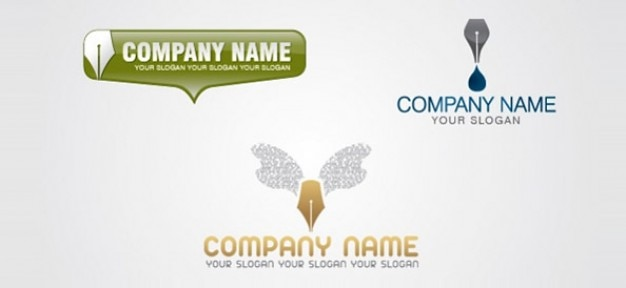 Contenuti scrittore logo design