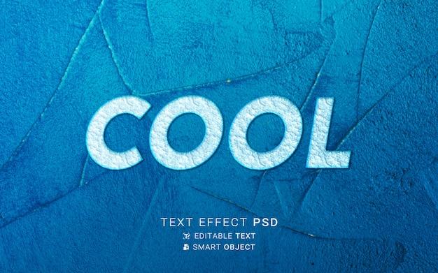 Cool teksteffectontwerp