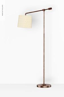 Cooper staande lamp mockup
