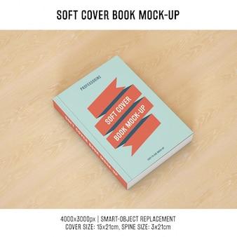 Copertina del libro mock up di progettazione