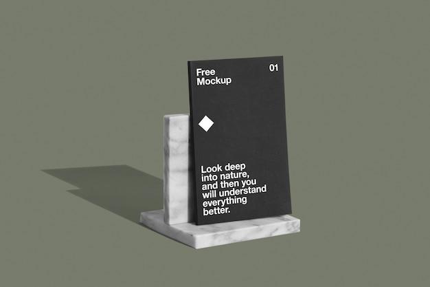 Copertina del libro stand mockup