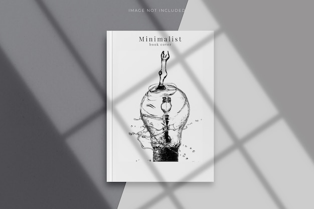 Copertina vuota di rivista, libro, opuscolo, brochure