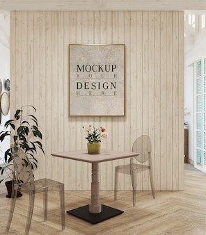 Cornice per mockup dal design moderno
