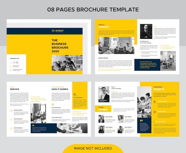 Corporate brochure sjabloon