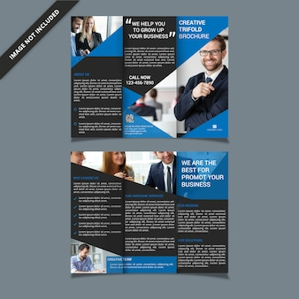 Corporate trifold-brochure