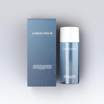Cosmetica product schoonheidsmodellen