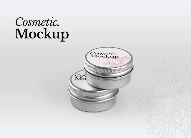 Cosmetisch model. mockup voor roompot