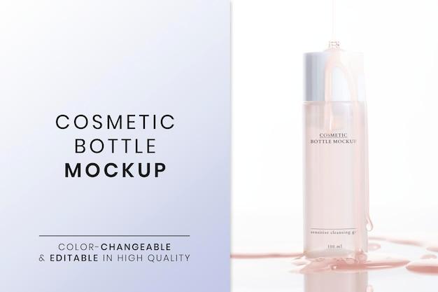 Cosmetisch productmodel psd voor schoonheid en huidverzorging