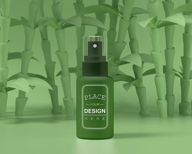 Cosmetisch productverpakkingsmodel