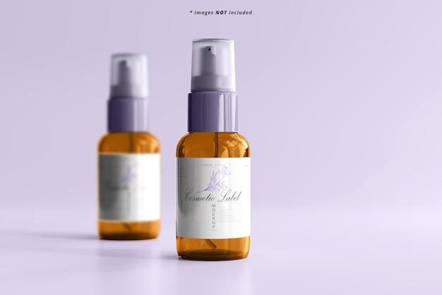 Cosmetisch spuitflesmodel