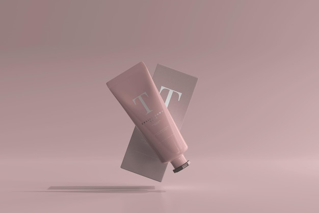 Cosmetische buis met doosmodel
