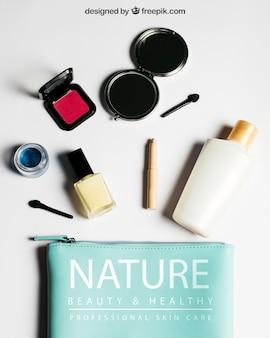 Cosmetische mockup