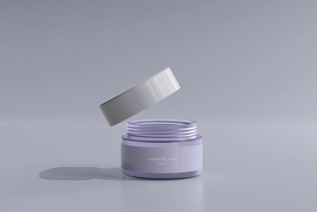 Cosmetische potmodel Gratis Psd