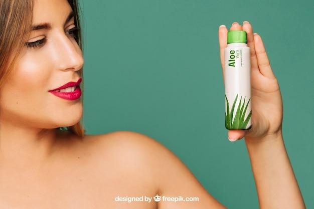 Cosmetische product mockup