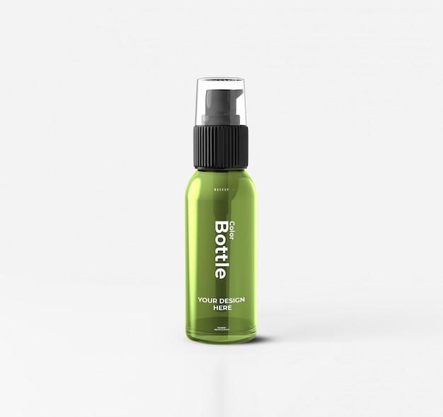 Cosmetische pump bottle mockup